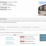 Asbestos Register Property Home Page