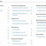 Asbestos Data Management Admin Menu