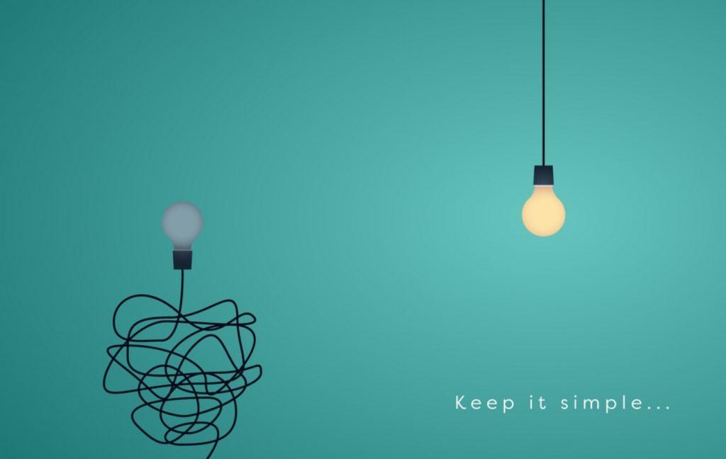 Keep it simple... light bulb.