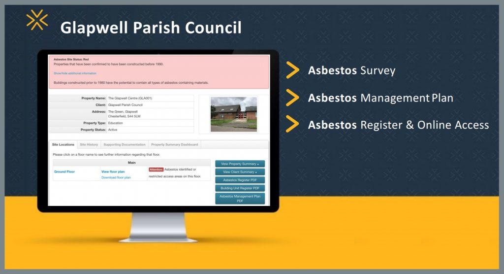 Glapwell Parish Council - Asbestos Case Study
