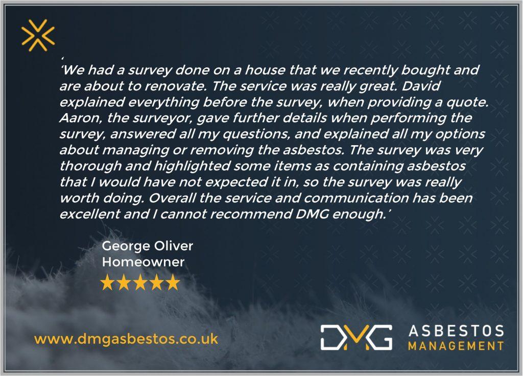 DMG Asbestos Management Review